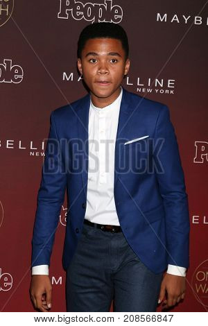 LOS ANGELES - OCT 4:  Chosen Jacobs  at the People's Ones To Watch Party at the NeueHouse Hollywood on October 4, 2017 in Los Angeles, CA