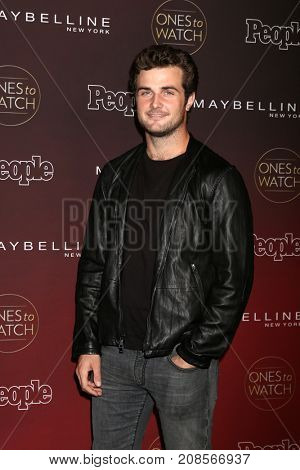 LOS ANGELES - OCT 4:  Beau Mirchoff at the People's Ones To Watch Party at the NeueHouse Hollywood on October 4, 2017 in Los Angeles, CA
