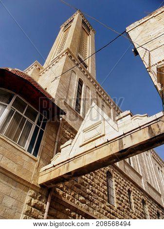 Israel Middle East Bethlehem Birthplace of Jesus old city