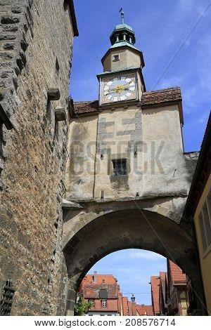 Marcus Tower In Rothenburg Ob Der Tauber