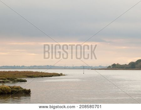 Overcast Open Sea Space River Water No People Empty Autumn Beautiful