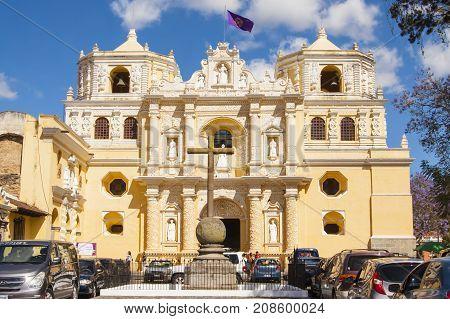 Iglesia De La Merced, Antigua, Guatemala