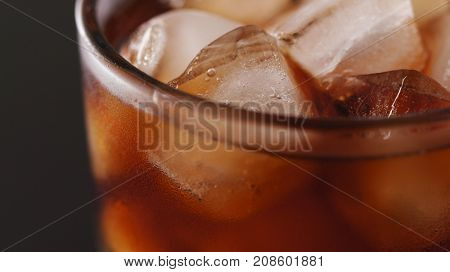 Soft drink and iced