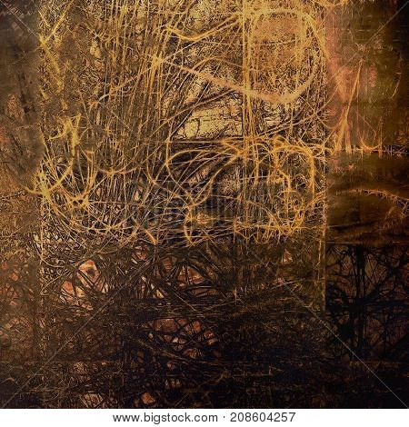 Abstract distressed grunge background. With different color patterns