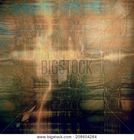 Vintage retro frame or background, old school textured backdrop. With different color patterns