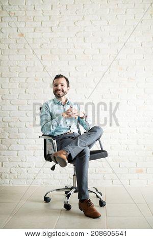 Portrait Of A Young Entrepreneur