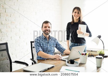 Woman Supervising Her New Employee