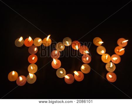Joy With Candles