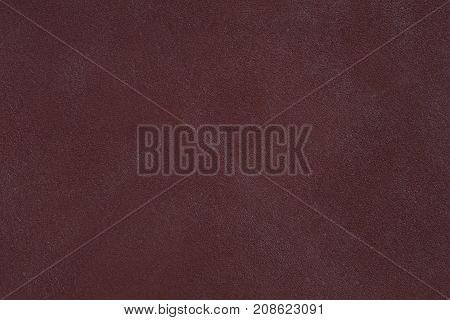 Dark vintage brown leather texture. High resolution photo.