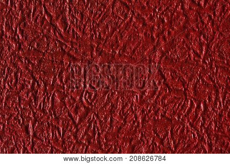 Red paper texture, can be used as background. High resolution photo.