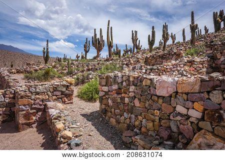 Pukara de Tilcara pre Columbian fortifications Argentina