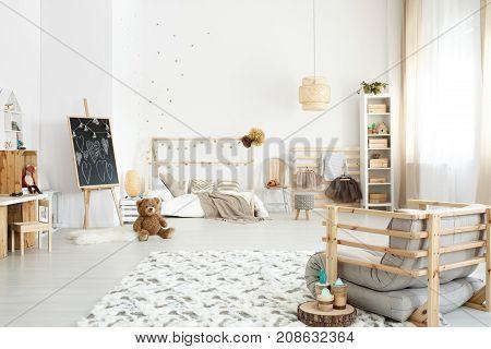Handmade Sofa In Girl's Bedroom