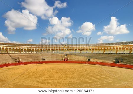 Bull Arena In Seville