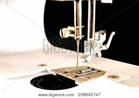 Old Vintage Sewing Machine