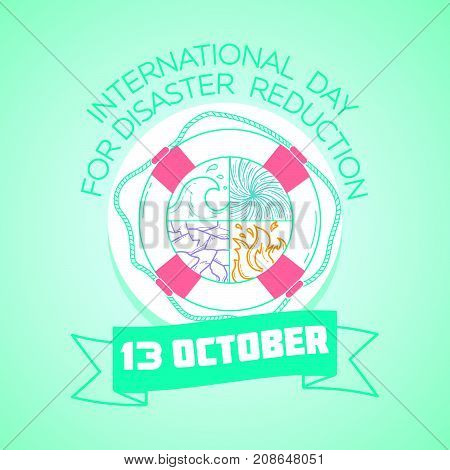 October  13 International Day For Disaster