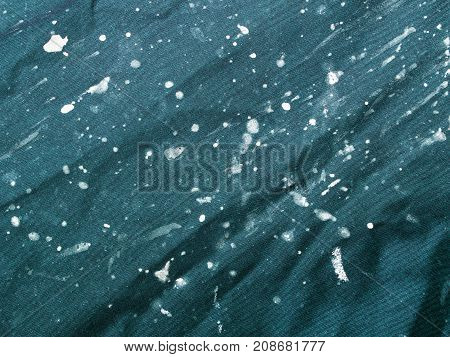 stained cloth texture for background, copy space