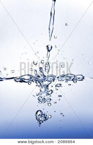 Pouring Fresh Water