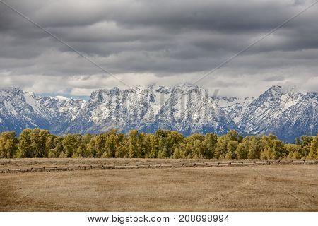 Elk Ranch in Grand Teton National Park