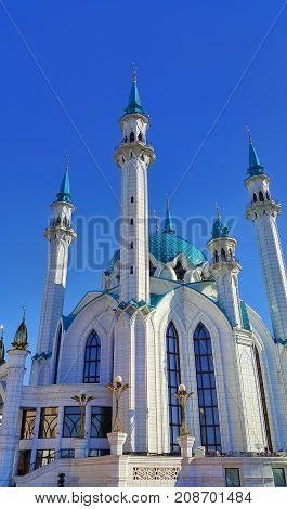 Kul Sharif mosque Kazan Republic of Tatarstan Russia