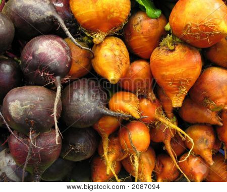 Beets Red And Orange