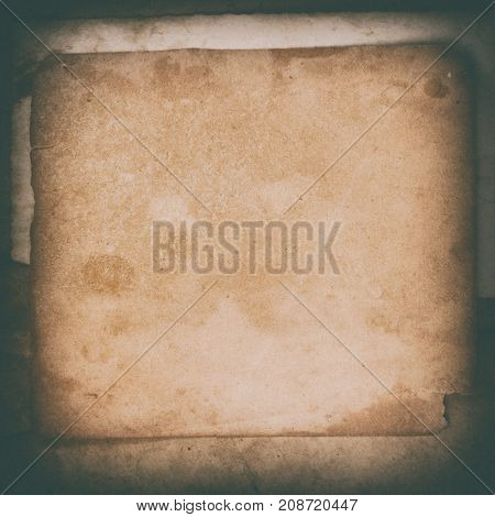 Folded grunge paper, vintage background