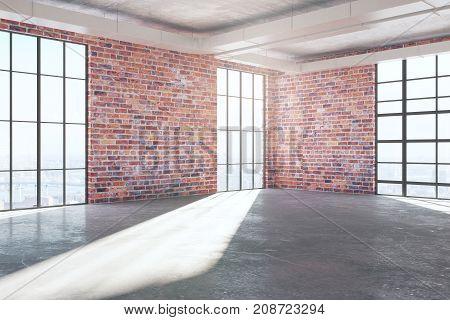 Side Brick Room Front
