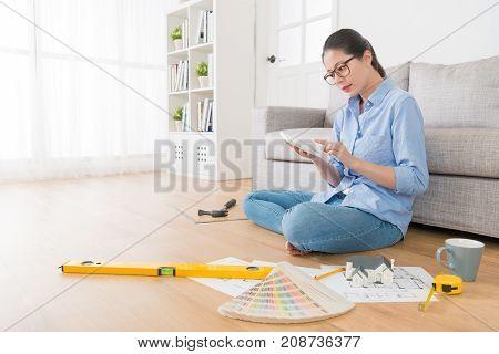 Professional Elegant Female Interior Designer