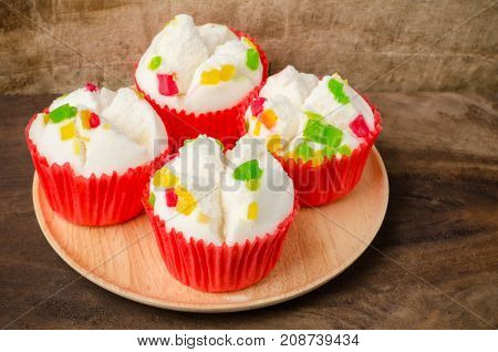 Steamed cupcake, dessert for Chinese new year
