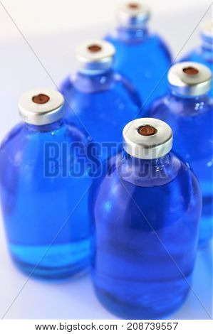 An Image of injection medicine - concept