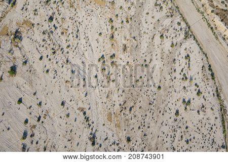 Desert Sand From Above