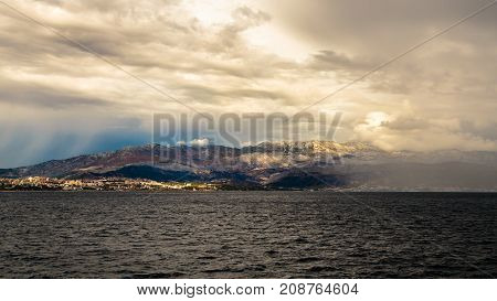 Storm In The Sea Of Split