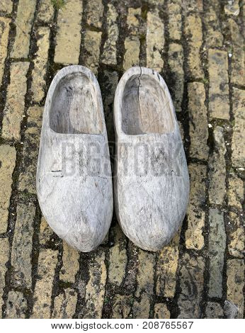 Old Dutch Clogs Made In Wood