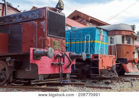 Old Locomotive Railway Train Station