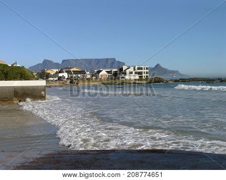 FROM BLOUBERG STRAND, CAPE TOWN. SOUTH AFRICA, ON A CLEAR DAY 04s