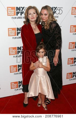 "Producer Sally Jo Effenson (L) and Piper Blair at the ""Mudbound"" premiere at Alice Tully Hall during the New York Film Festival on October 12, 2017 in New York City."