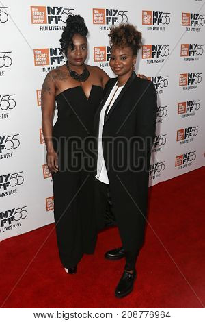 Composer Tamar-Kali (L) and director Dee Rees attend the