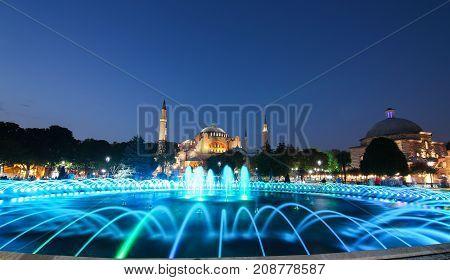Hagia Sophia Museum In Istanbul
