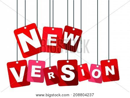 new version sign new version design new version illustration new version banner new version element new version eps10 new version vector new version