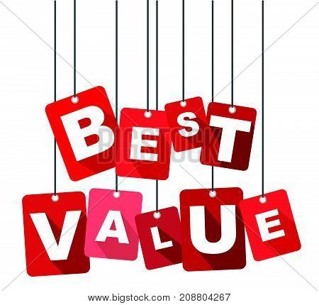 best value sign best value design best value illustration best value banner best value element best value eps10 best value vector best value