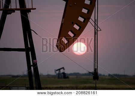Oil Jack Saskatchewan