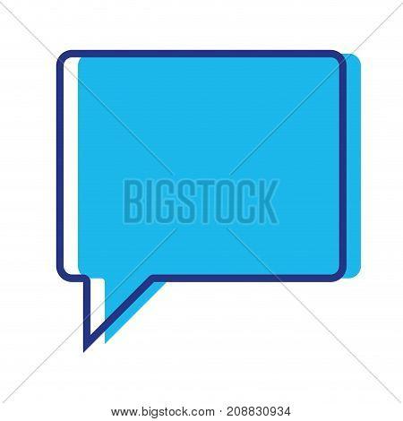 color chat bubble notes text message vector illustration