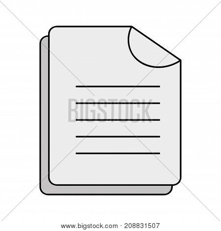 business document business data archive vector illustration