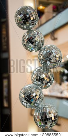 Disco Balls For Dancing In A Disco Club