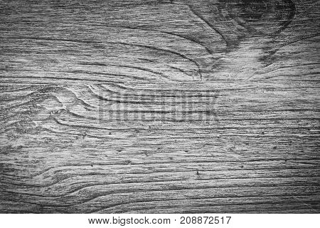 Background wood texture black and white. Structural wood background.