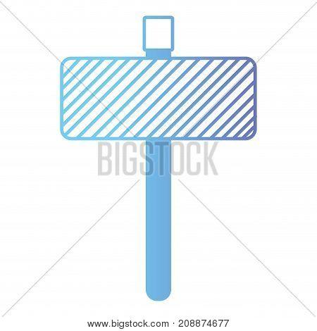 line metal emblem notices element vector illustration