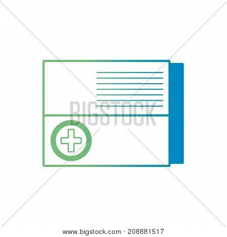 line pharmaceutical pill medicine treatment vector illustration