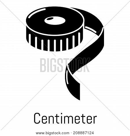 Centimeter icon. Simple illustration of centimeter vector icon for web