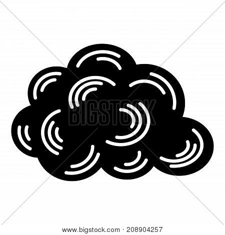 Cloud icon. Simple illustration of cloud vector icon for web