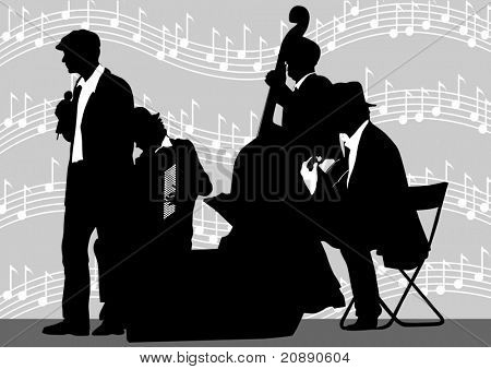 drawing orchestra background music