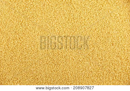 Couscous Grain Close Up Background